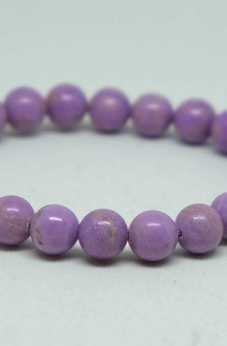 lilac phosphosiderite bracelet